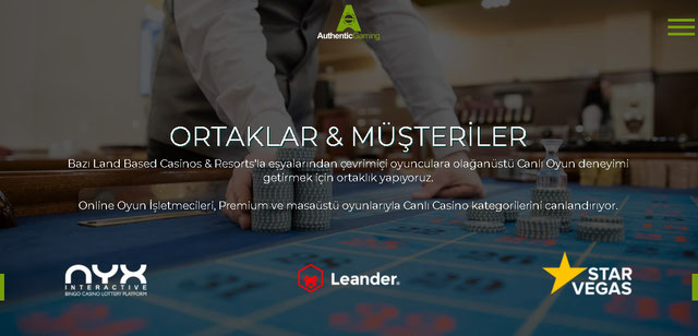Authentic Gaming Canlı Casino Oyunları