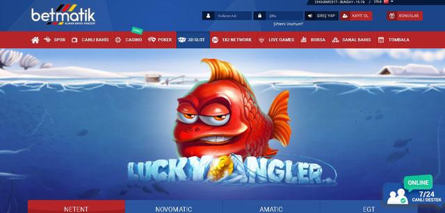 Betmatik Casino Sayfası Görüntüsü