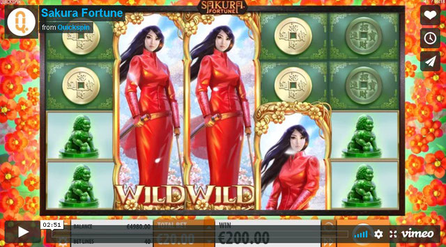 QuickSpin Casino Sakura Fortune