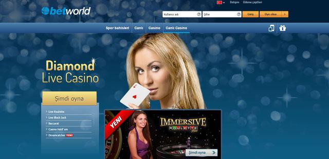 Betworld canlı casino