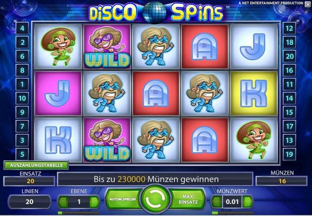 disco spins wild