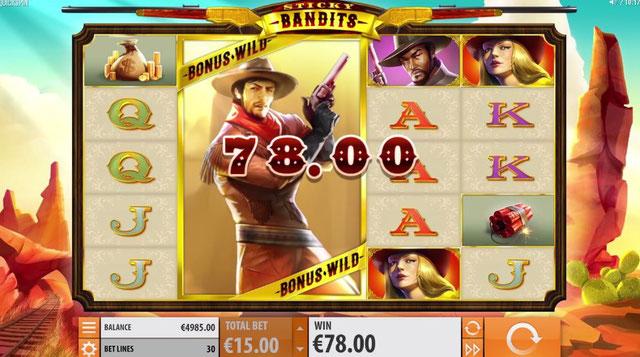 QuickSpin Casino Sticky Bandits