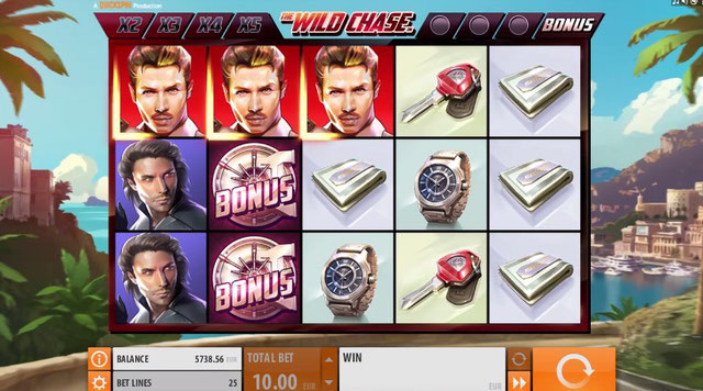 QuickSpin Casino The Wild Chase