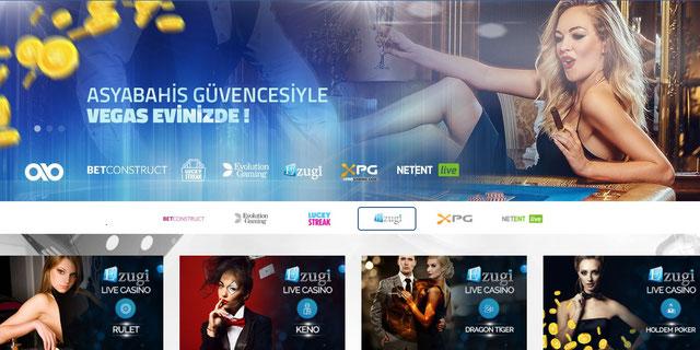 Asyabahis Canlı Casino Sayfası Görüntüsü