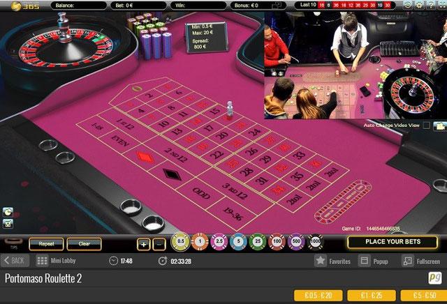 Portamaso Gaming Canlı Rulet