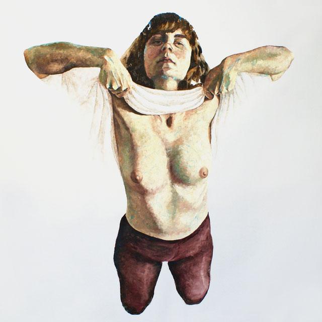 Öl auf Leinwand, 150 x 150 cm, 2012