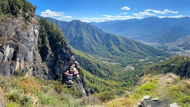 Tigernest Kloster in Bhutan