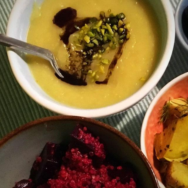 Pastinaken-Suppe