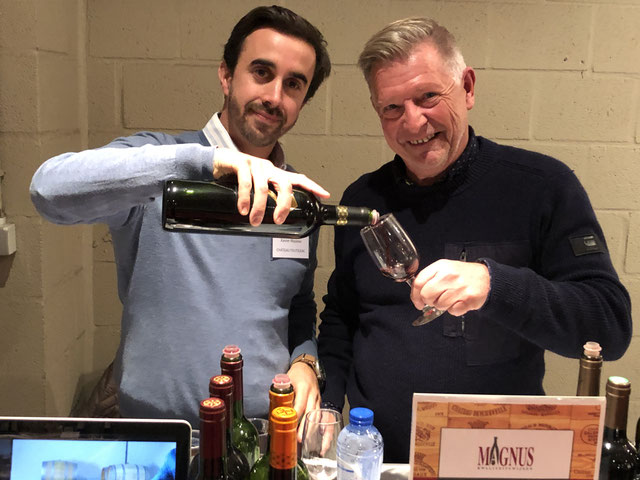 Xavier, broer van wijnmaakster Oriane domaine Toutigeac Bordeaux