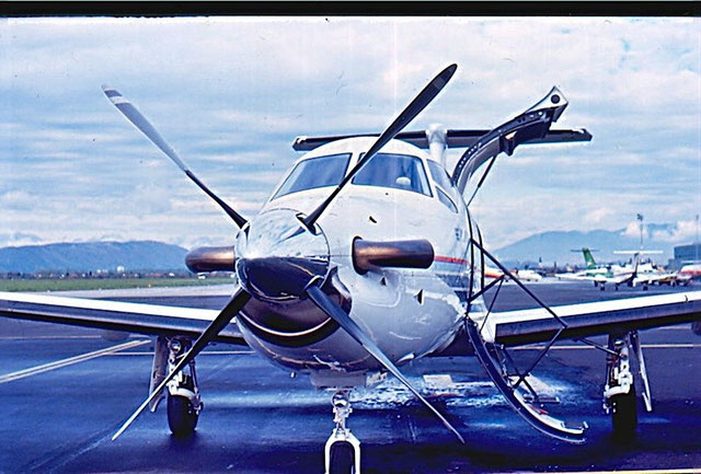 HB-FOB -   Pilatus Flugzeugwerke Pilatus PC-12
