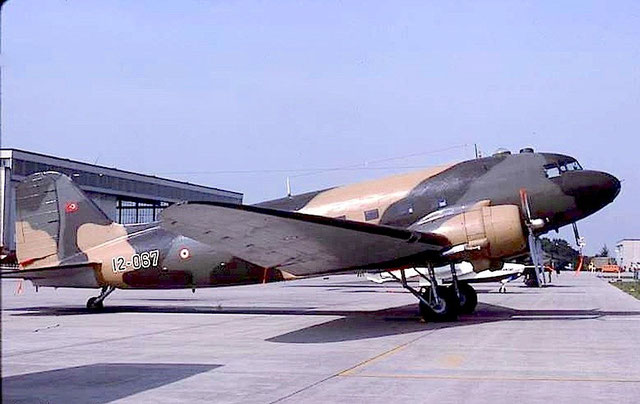 Turkey - Air Force Douglas C-47B Skytrain (DC-3)