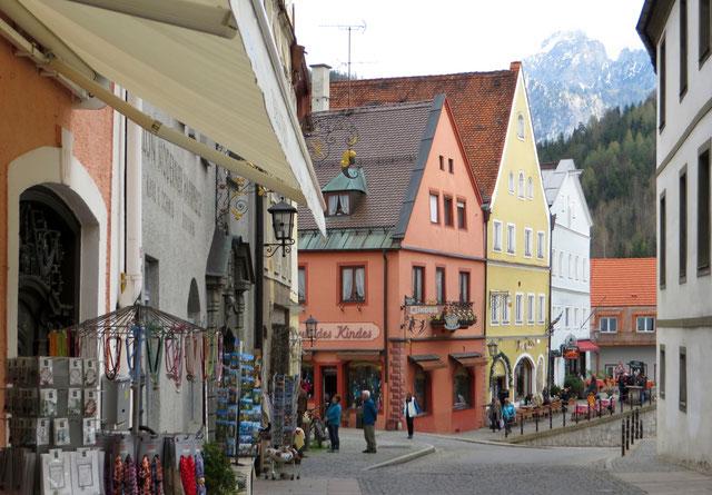 Fiuseno senamiestis Bavarijoje