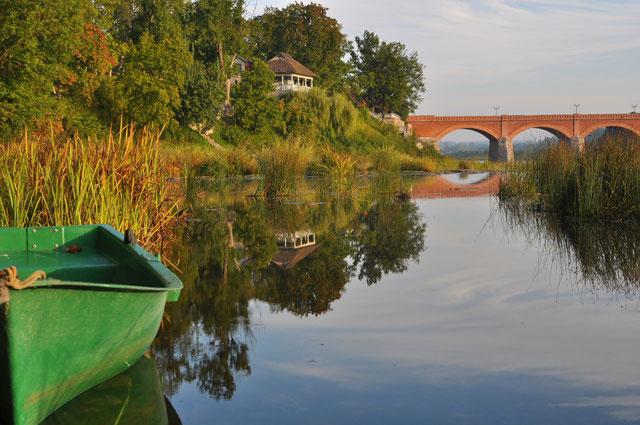 Plytinis Kuldygos tiltas per Ventą statytas Caro laikais / Foto: Uldis Balga