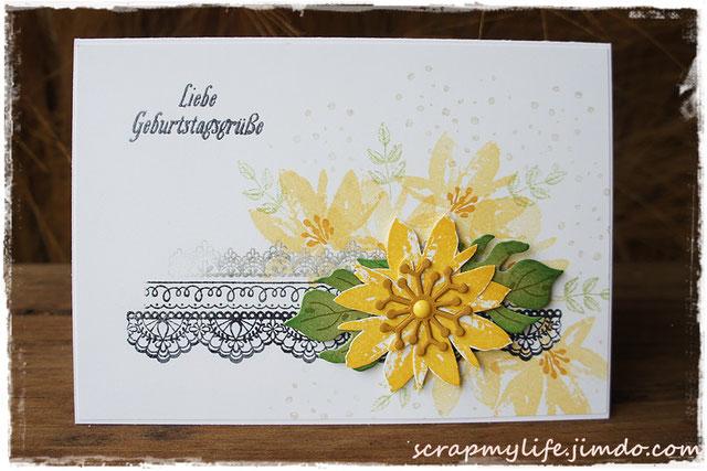 stampin up - Delicate Details - Gartengrüße