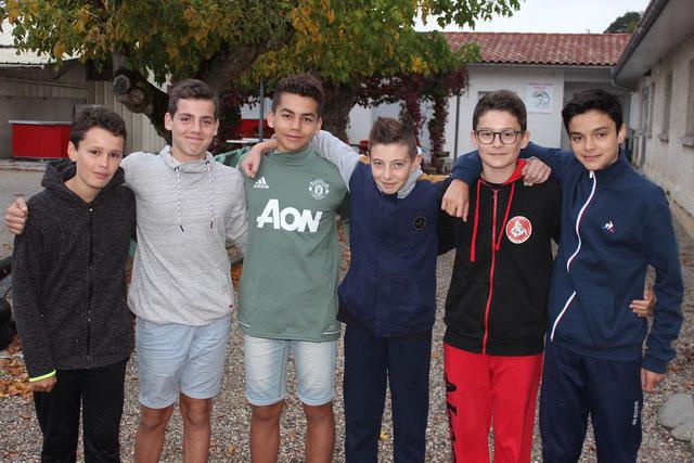 Elias, Virgile, Pierre, Tom, Mattieu etLouis sont retenus en sélection départementale. Félicitations !!