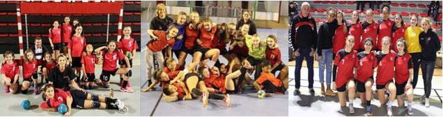 11 ans filles, 15 ans filles et 18 ans filles. Elles sont Championnes!!