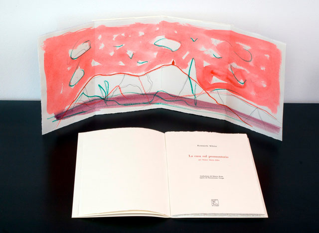 opera originale di Pierantonio Verga a quadruplice pagina (esempio)
