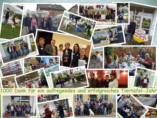 Tiertafel RheinErft e.V. bedankt sich bei allen Unterstützern.