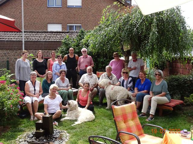 Teamtreffen 07.2020, Foto: Härtel
