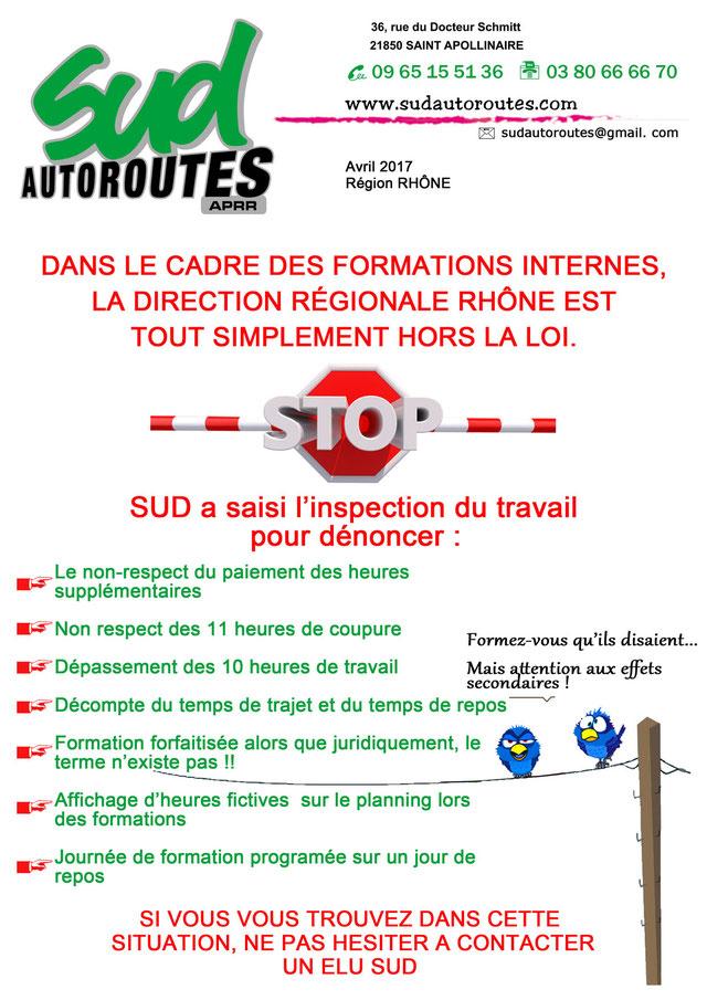 Formations internes SUD Autoroutes APRR
