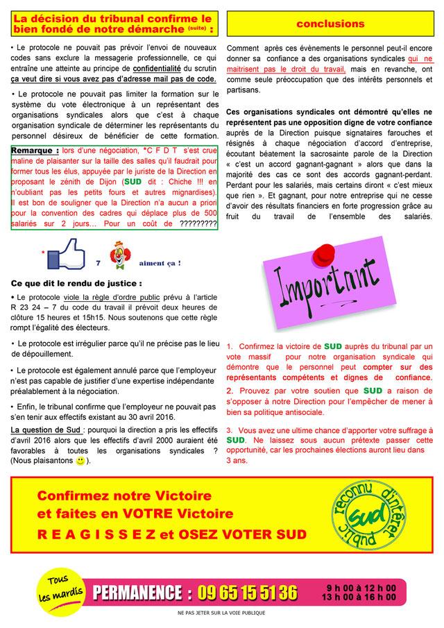 Protocole électoral SUD Autoroutes APRR