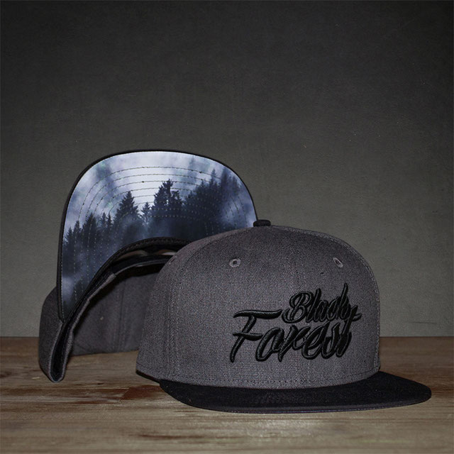 Black Forest Cap grau