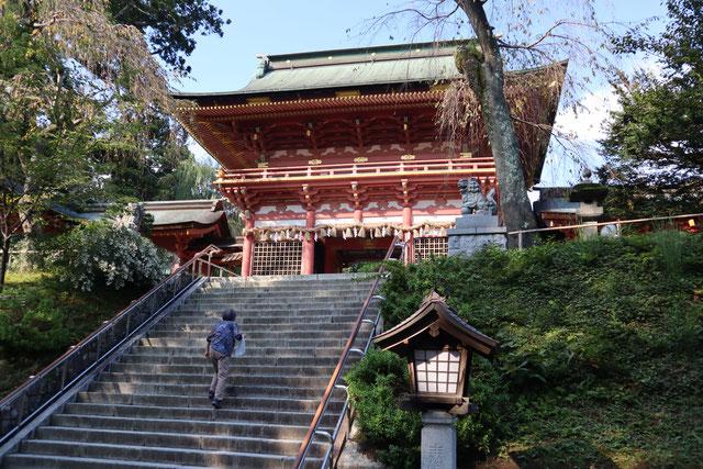塩竈神社にも参拝しました。信仰の場です。