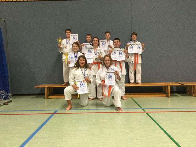 Unsere Sieger 18.11.2018 in Steinen.