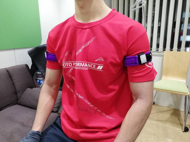 肩関節まわりの筋肉が弱い 加圧トレーニング