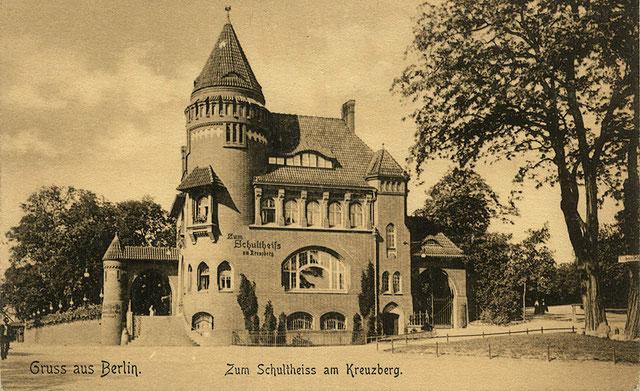 Sixtus Villa 1910 Mansion in Kreuzberg
