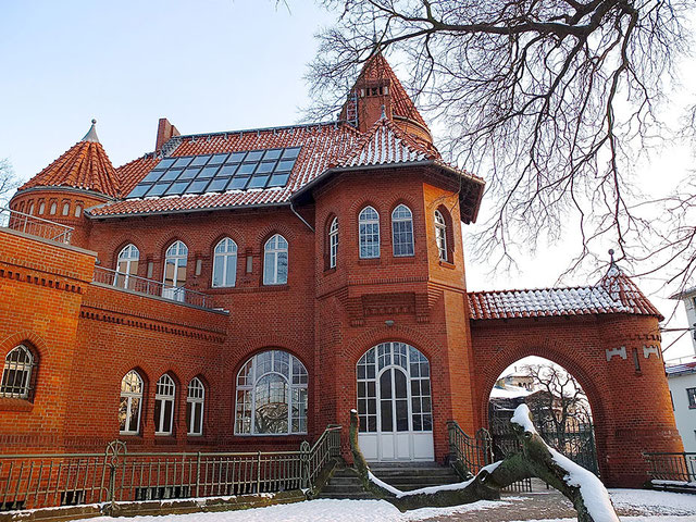 South side of the mansion in Kreuzberg, Berlin