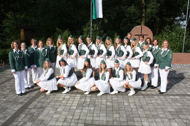 Weibliche Ehrengarde