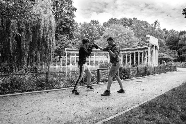 Cours de boxe - entraineur de boxe en entreprise, paris, hauts de seine, val d'oise