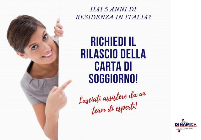 Carta di Soggiorno |Agenzia per stranieri DINAMICA A MILANO ...