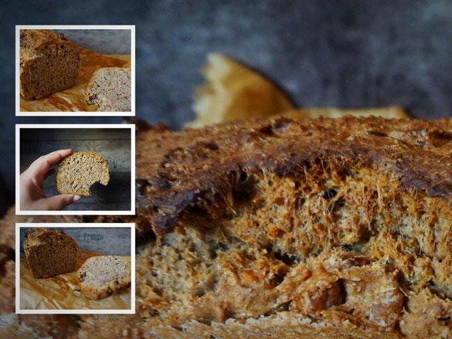 veganes Walnuss-Brot mit Vollkornmehl l Gelingt garantiert