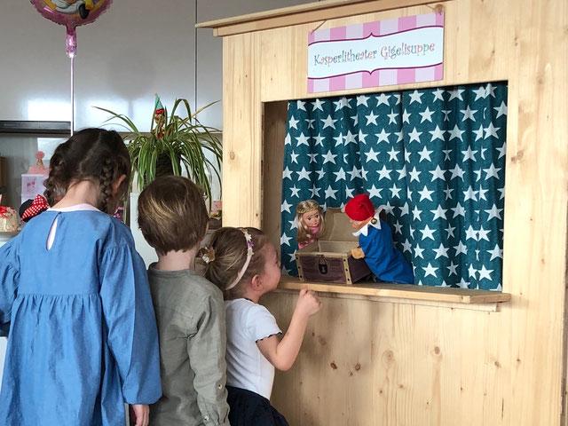 Kindergeburtstag Kinderparty Kinderunterhaltung Kasperlitheater