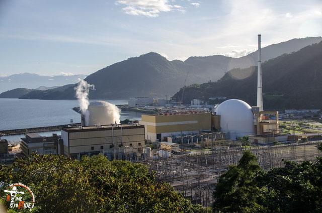 Brasilien - Südamerika - Motorrad - Weltreise - Rio de Janeiro - Südamerika - Motorrad - Weltreise - Atomkraftwerk in Angra dos Reis