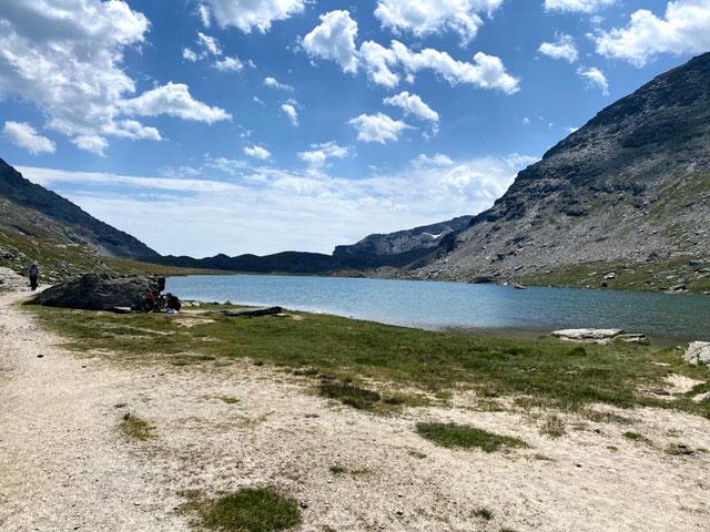 Finalmente un meritato relax al lago delle Savine