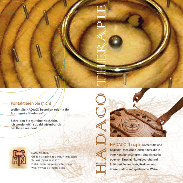 HADACO Therapie - der Flyer (verso)