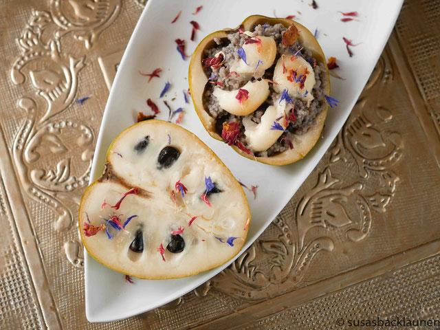 Cherimoya mit Quinoa