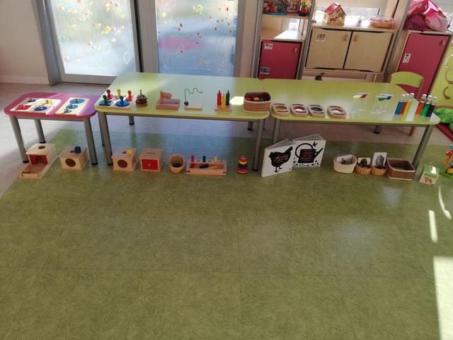 Atelier Montessori dans un RAM / Ateliers À la Volette-Montessori