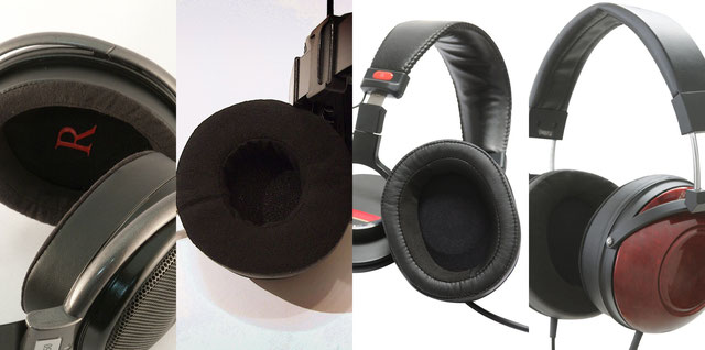 YAXI earpads ALCANTARA ヤクシーイヤーパッド アルカンターラ HD25 HD650 900st