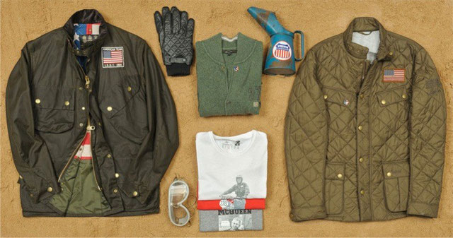 Barbour International Steve McQueen Riding Gear