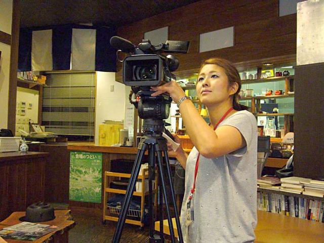 女性カメラマン!かっこいいですね~