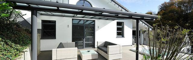Alu-Carport - Terrassendach, Terrassenüberdachung, Carport und ...