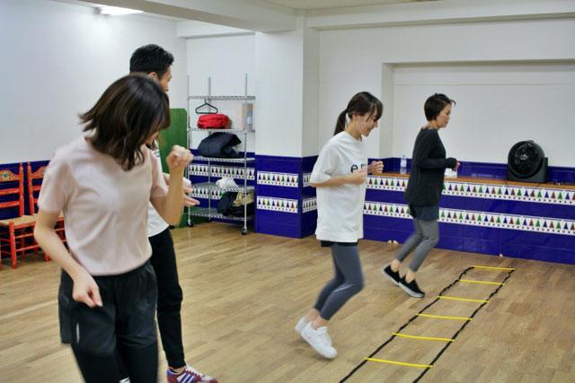 メンタル面やストレス改善効果も大きいラダートレーニング