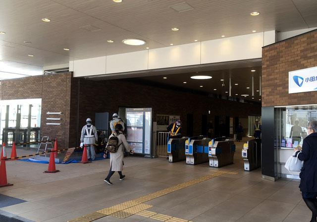 2017年3月24日新駅舎完全オープン