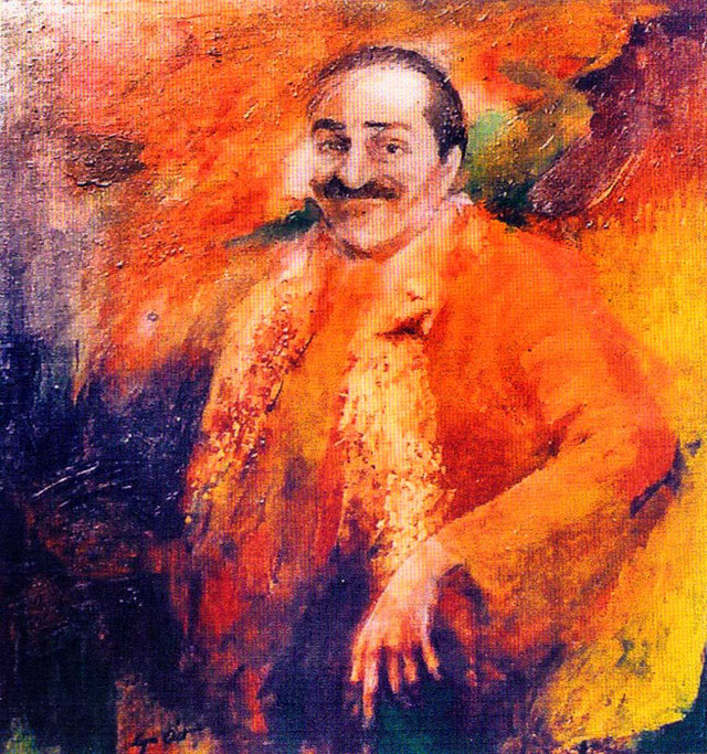 Lyn Otts Meher Baba paintings