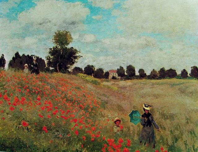 "Claude Monet, ""I papaveri"""