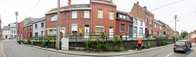 image panoramique de la rue du Mont